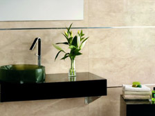Bathroom tile sample
